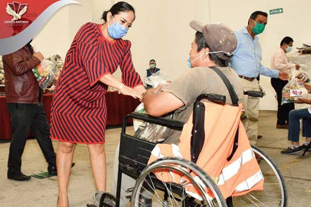 Arranca Lupita Daniel entrega del Programa Interno de Despensas