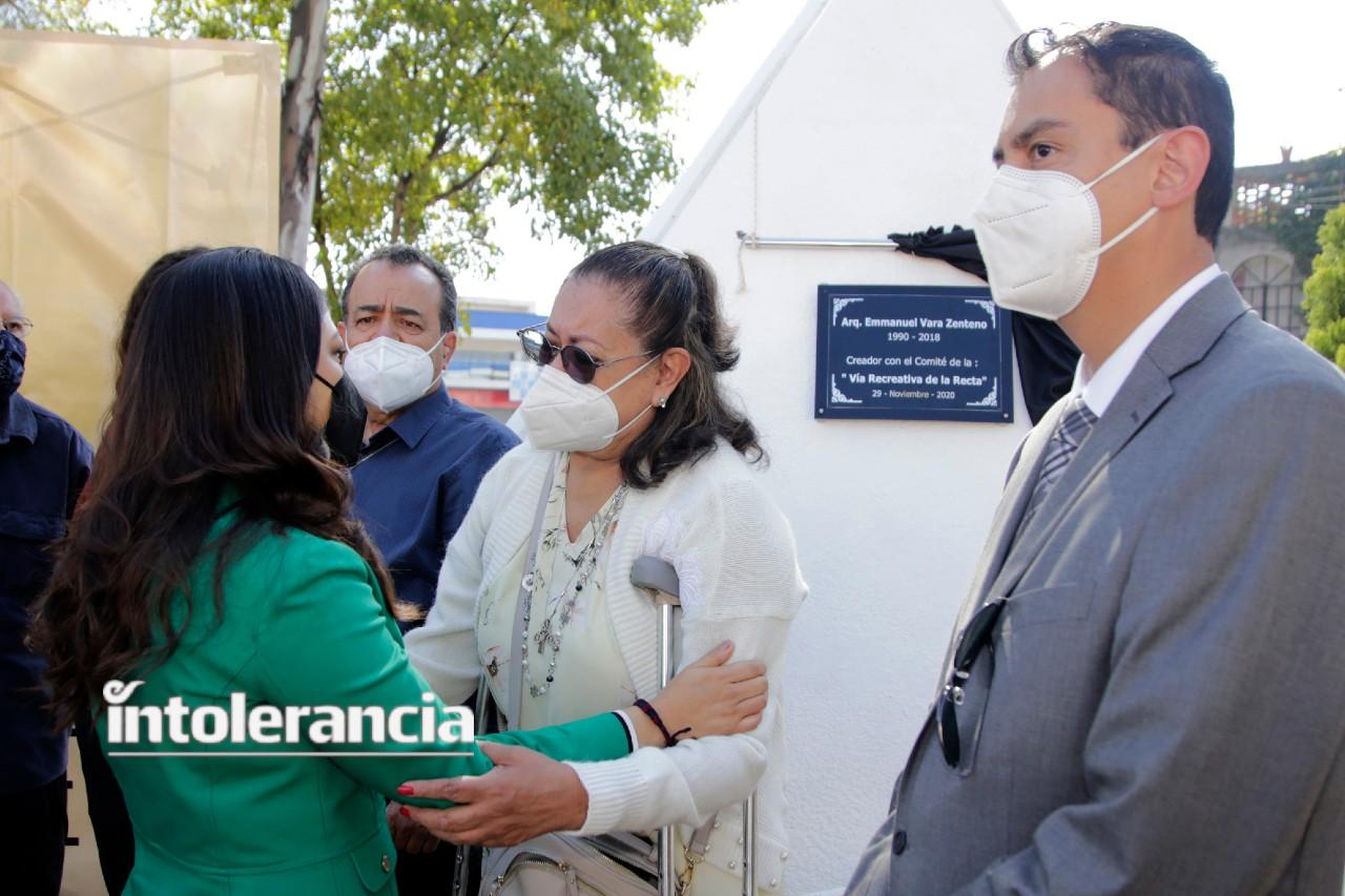 El trabajo de Manu se mantiene al seno de la Secretaría de Movilidad: Claudia Rivera