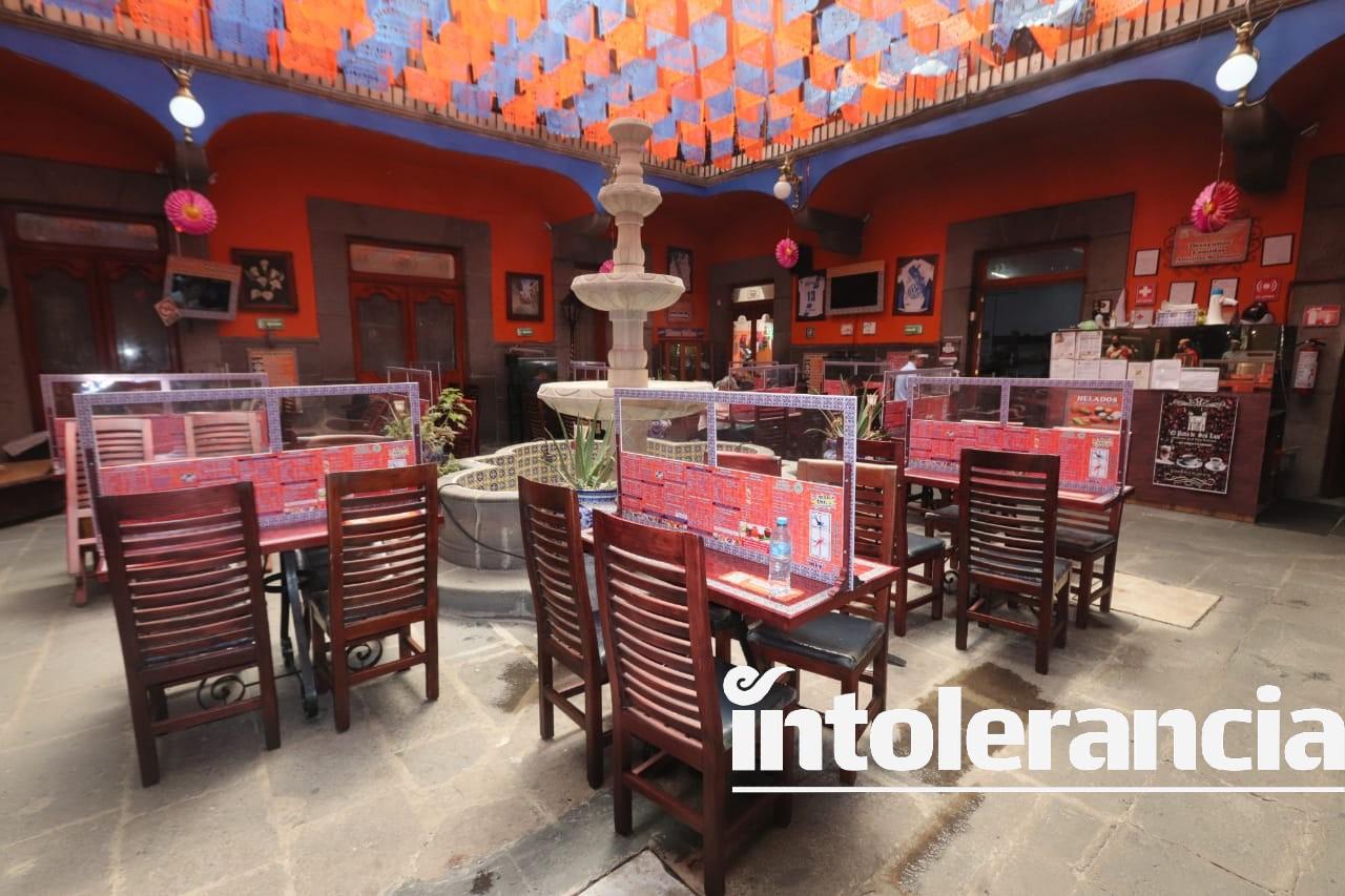 Se preparan restaurantes de la capital para la nueva normalidad