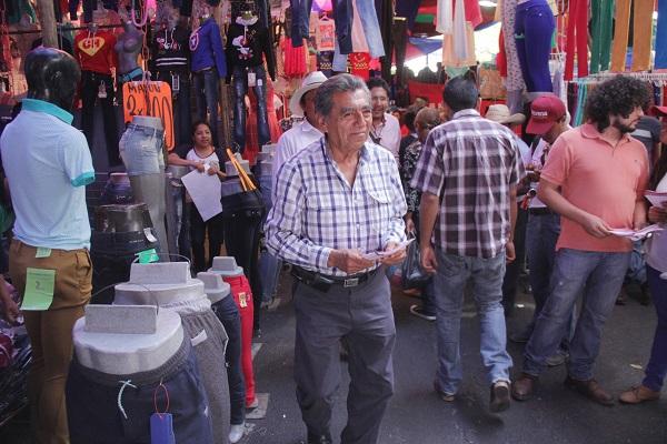 Escucha Quiroz a comerciantes de la Central; se quejan de RUTA