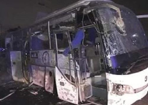 Mueren dos turistas tras la explosión de un autobús en Egipto