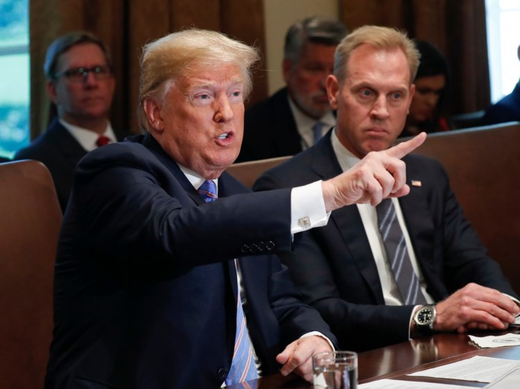 Trump elige a Patrick Shanahan como jefe interino de Pentágono