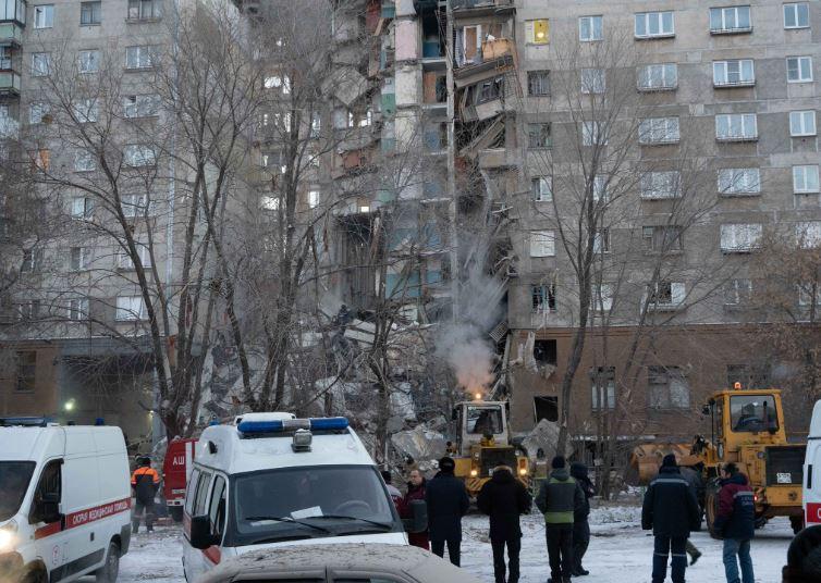 Asciende a 21 cifra de muertes por explosión de gas en Rusia
