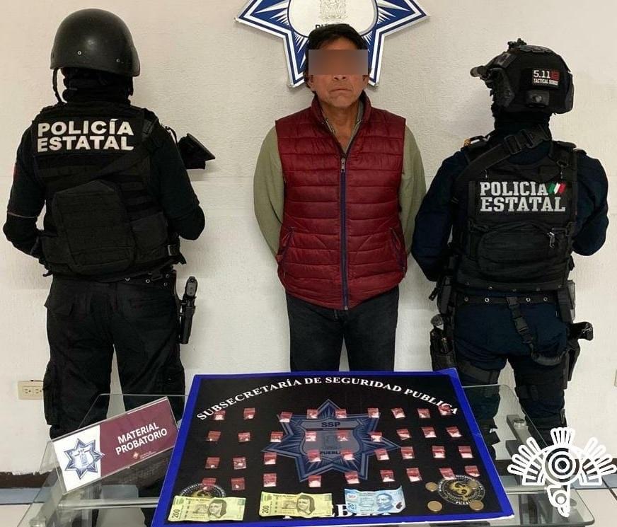 """Capturan a """"El Tío Fer"""", narcomenudista que operaba en la zona de la 46 Poniente"""
