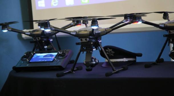 Se cuenta con tres drones