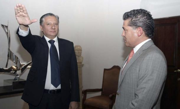 03/2015 | Rindió protesta en el gabinete de Moreno Valle