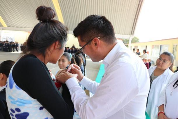 Aplicación de la vacuna Sabin