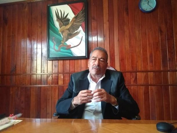 Alcalde Julio Aguilar Andrade