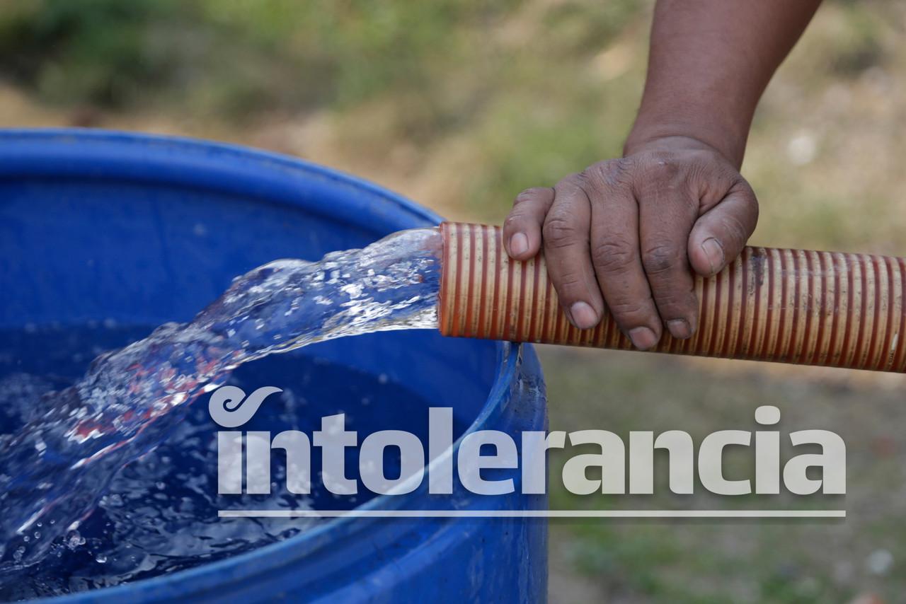 70localidades y a 4 mil familias ha beneficiado la alcaldía con agua potable