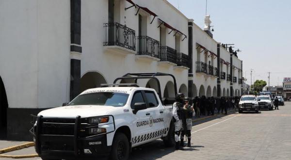 Se une Guardia Nacional a seguridad en Huejotzingo