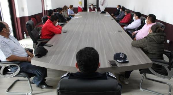 Encabeza Mario de la Rosa, mesa de trabajo para acciones por Covid-19