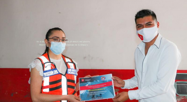 Brinda Protección Civil capacitación en Quecholac