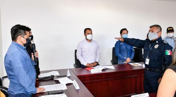 En Coronango designan a Jorge Chapuli como comisario