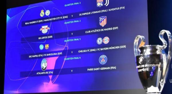 Definen los Cuartos de Final de la UEFA Champions League