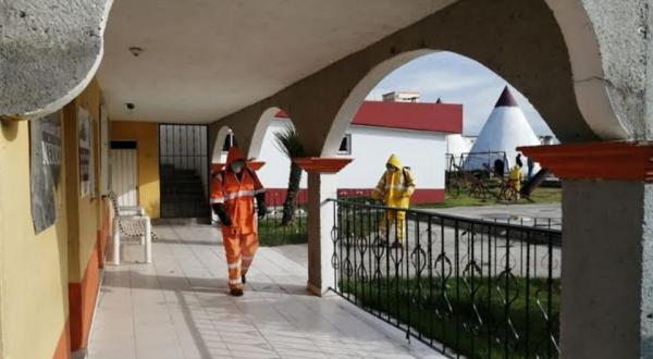 En El Seco continúan medidas de prevención por el Covid-19
