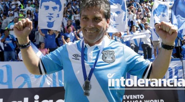 Anuncia Club Puebla llegada de 'Búfalo' Poblete como Director Deportivo