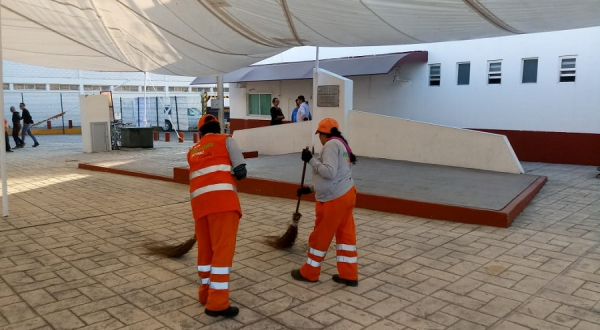 Organismo de Limpia de Puebla restructura rutas de barrido para optimizar el servicio