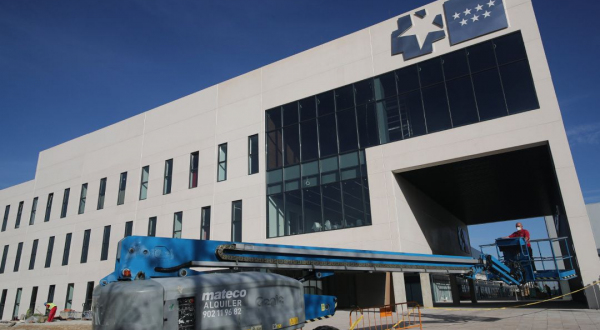 Inauguran en España hospital para pandemias