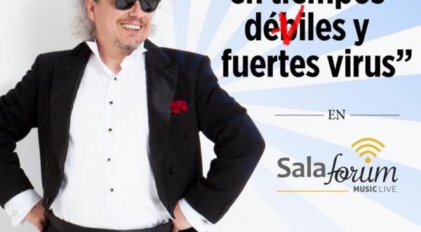 Sube Lazcano Malo al escenario de Sala Forum para concierto virtual