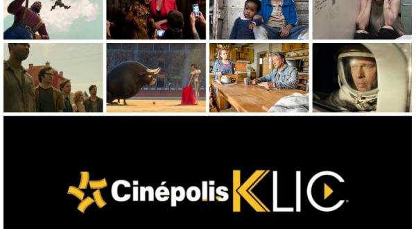 Drama, comedia, terror, acción y aventura con Cinépolis Klic y que la función continúe