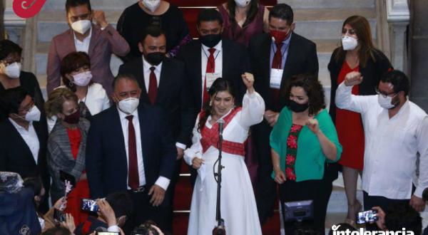 Destaca Claudia Rivera el papel de la mujeres en la independecia de México