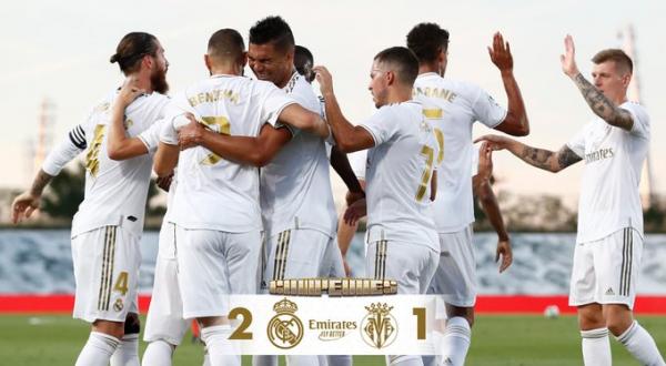Real Madrid se proclama campeón de La Liga 19-20