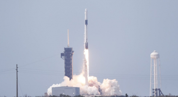 Día histórico: Despega con éxito misión Demo-2 de SpaceX y la NASA