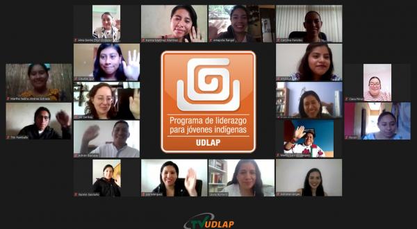 Reflexionan sobre racismo y discriminación egresados Programa de Liderazgo para Jóvenes Indígenas UDLAP