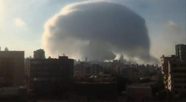 Expertos aclaran proceso del hongo formado en explosión de Beirut