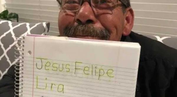 Felipe Lira, el abuelito que aprendió a leer y escribir con clases a distancia