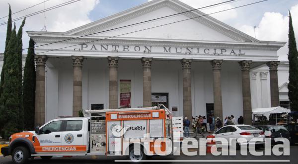 Panteón Municipal ha recibido desde el principio de la contingencia a 46 fallecidos por Covid-19