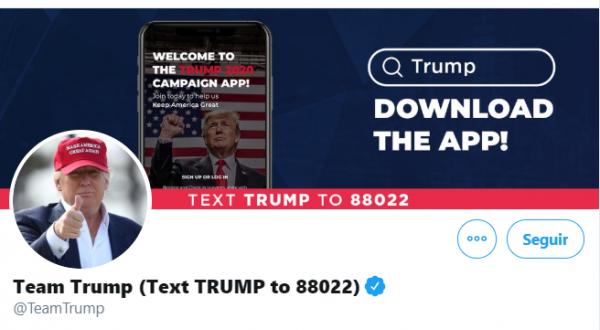 Twitter bloquea cuenta de Trump por difundir información errónea sobre coronavirus