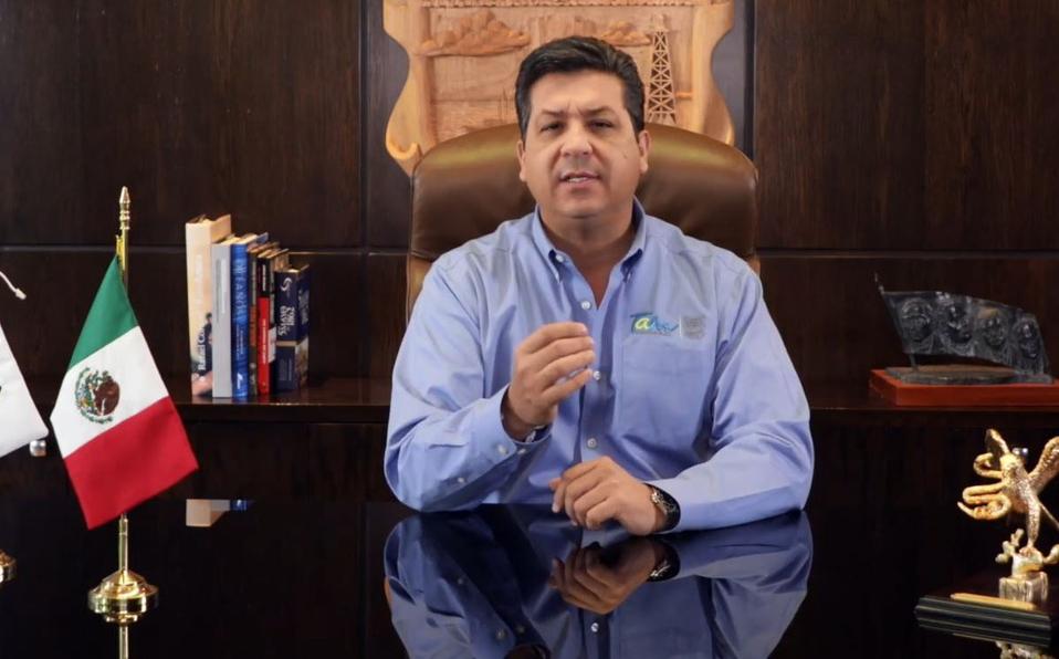 Gobernador de Tamaulipas se contagia de Covid-19