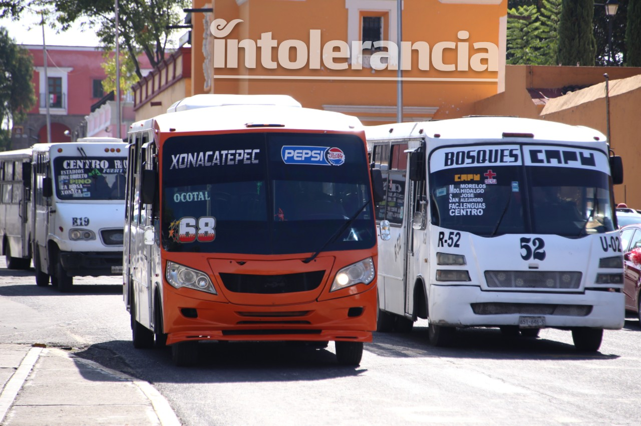 Anuncian transportistas que no cumplirán acuerdos tras confirmar descuento a estudiantes