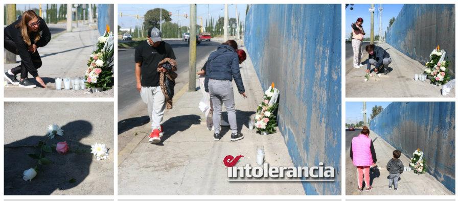 Fotos: Con ofrenda floral despiden a tres mujeres que murieron en accidente vial
