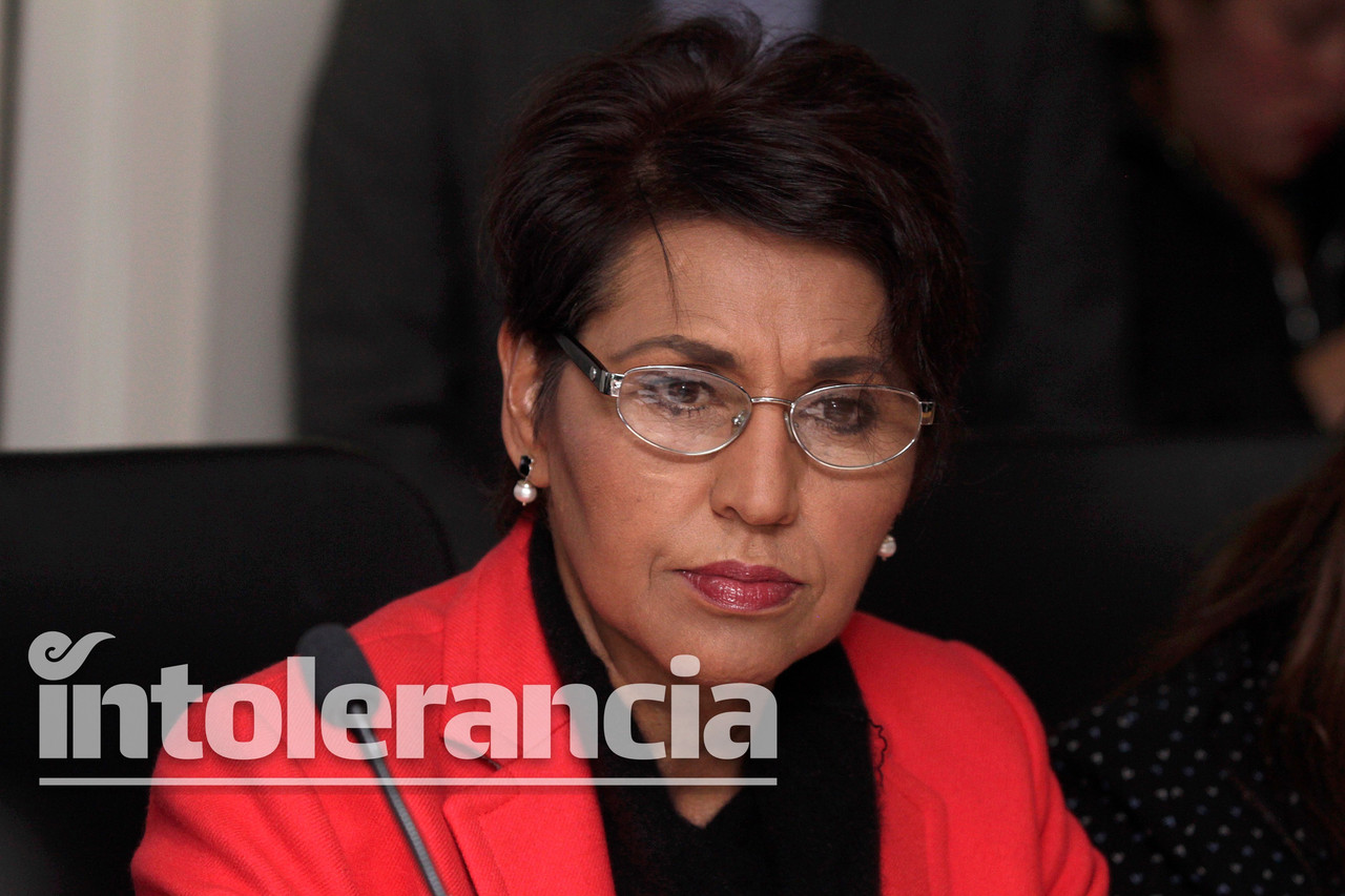 Un político no tiene que gozar del fuero ante delitos: Guadalupe Muciño