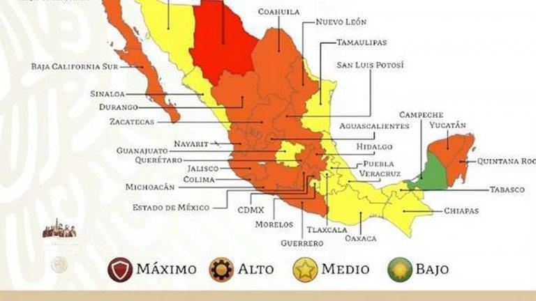 Puebla en amarillo y en alerta por Covid-19