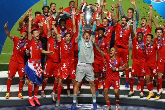 Bayern Múnich vence al PSG y es campeón de la Champions League