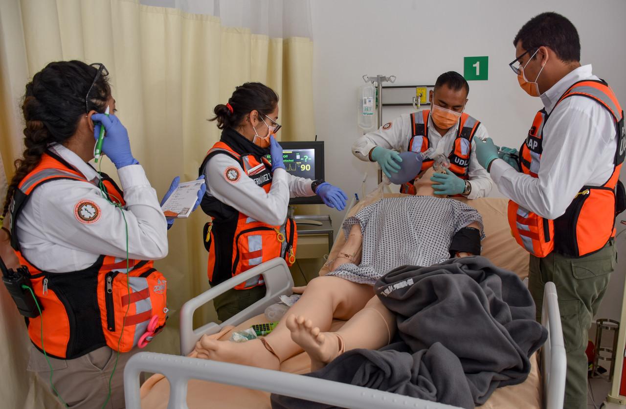 Jornadas con paramédicos (Foto: Cortesía)