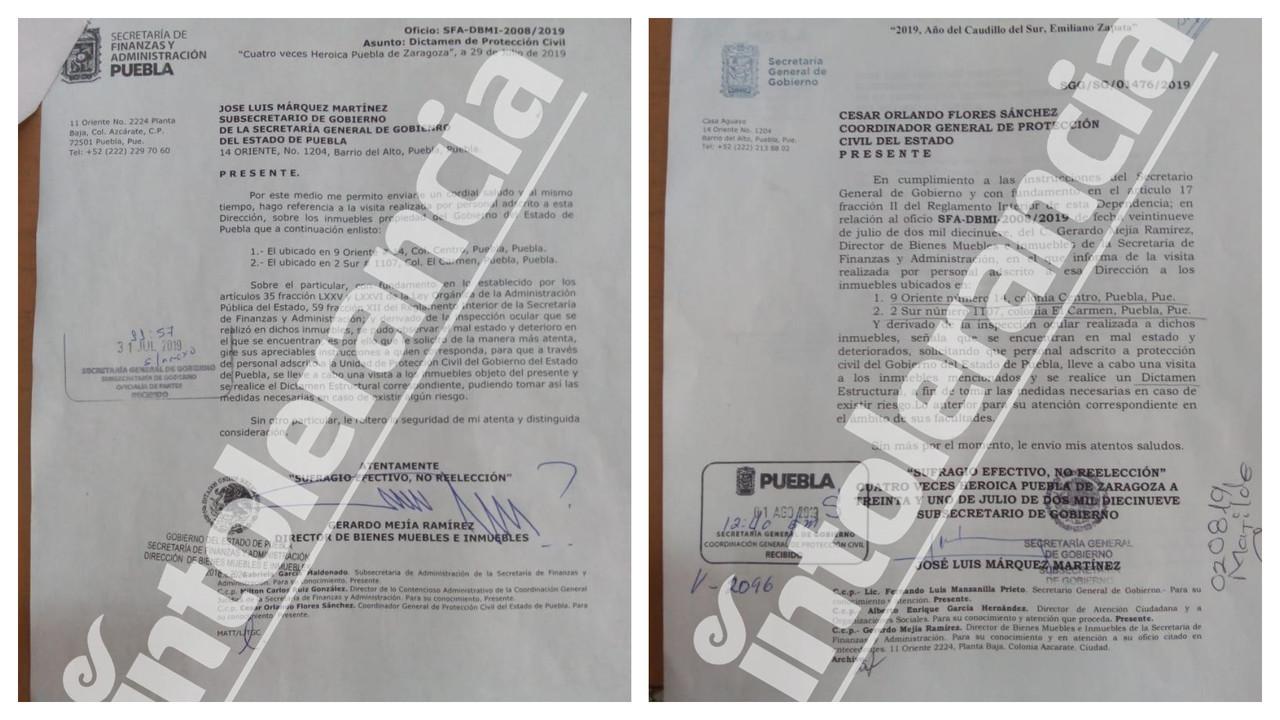 Priístas y Manzanilla iniciaron el retiro de la casona de CNC