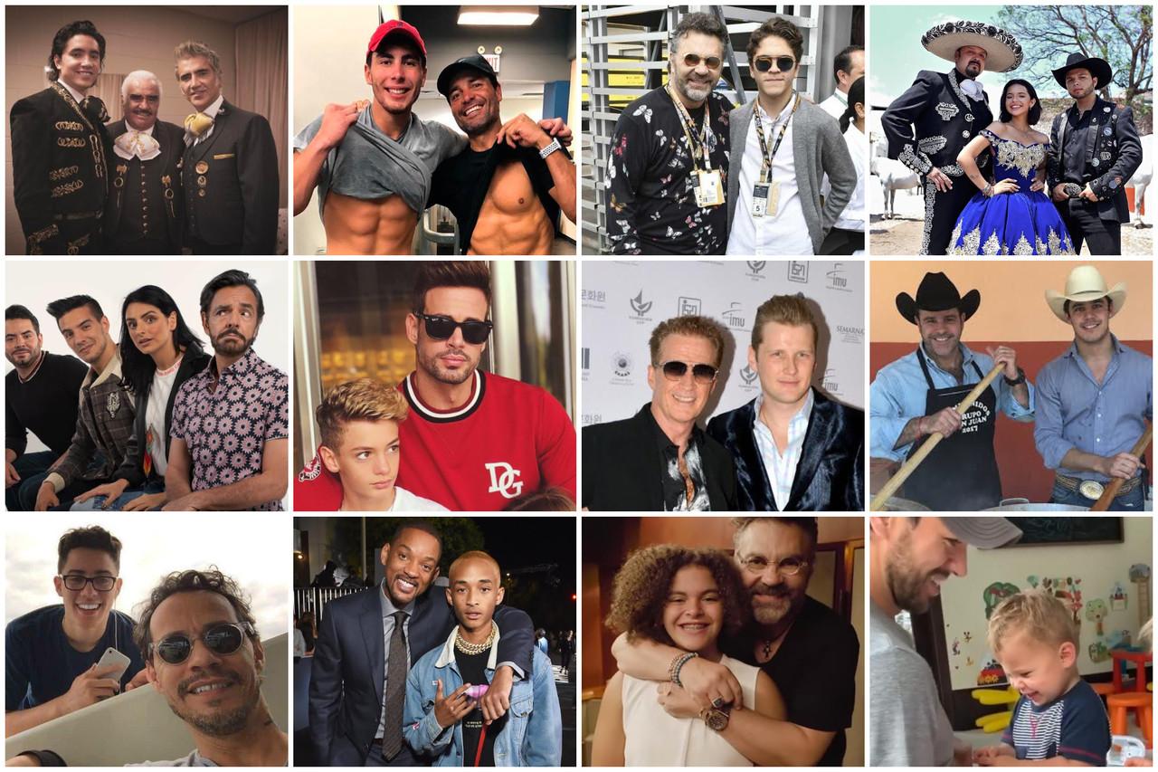 Los padres más talentosos, famosos, guapos y sexis del mundo del espectáculo