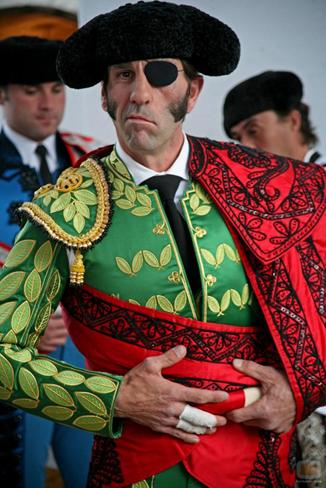 Los toreros defienden valores como la valentía y el sacrificio. En la foto Juan José Padilla (tomada dehttps://www.larioja.com/comarcas/arnedo/padilla-diego-urdiales-20180317004354-ntvo.html).