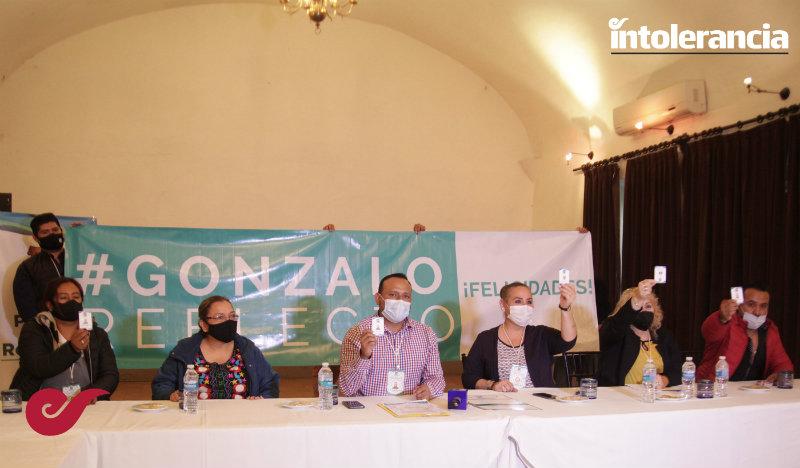 Reeligen a Gonzalo Juárez como líder del sindicato Benito Juárez del Ayuntamiento de Puebla