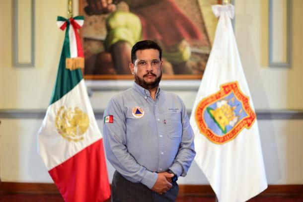 Gustavo Ariza Salvatori, titular de Protección Civil y Gestión Integral de Riesgos
