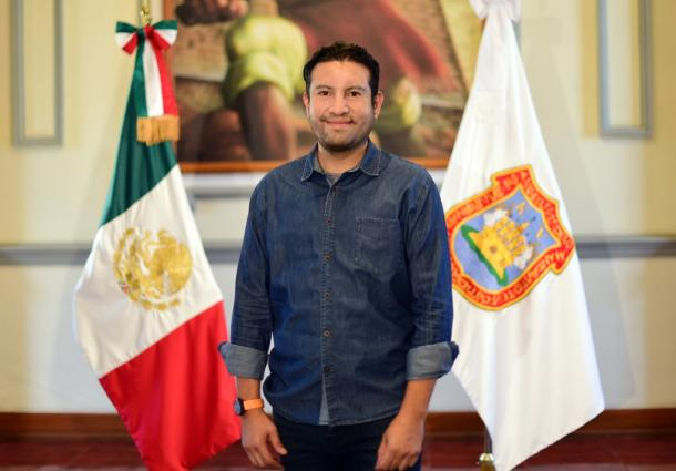 Eduardo Covián Carrizales, secretario de Movilidad,