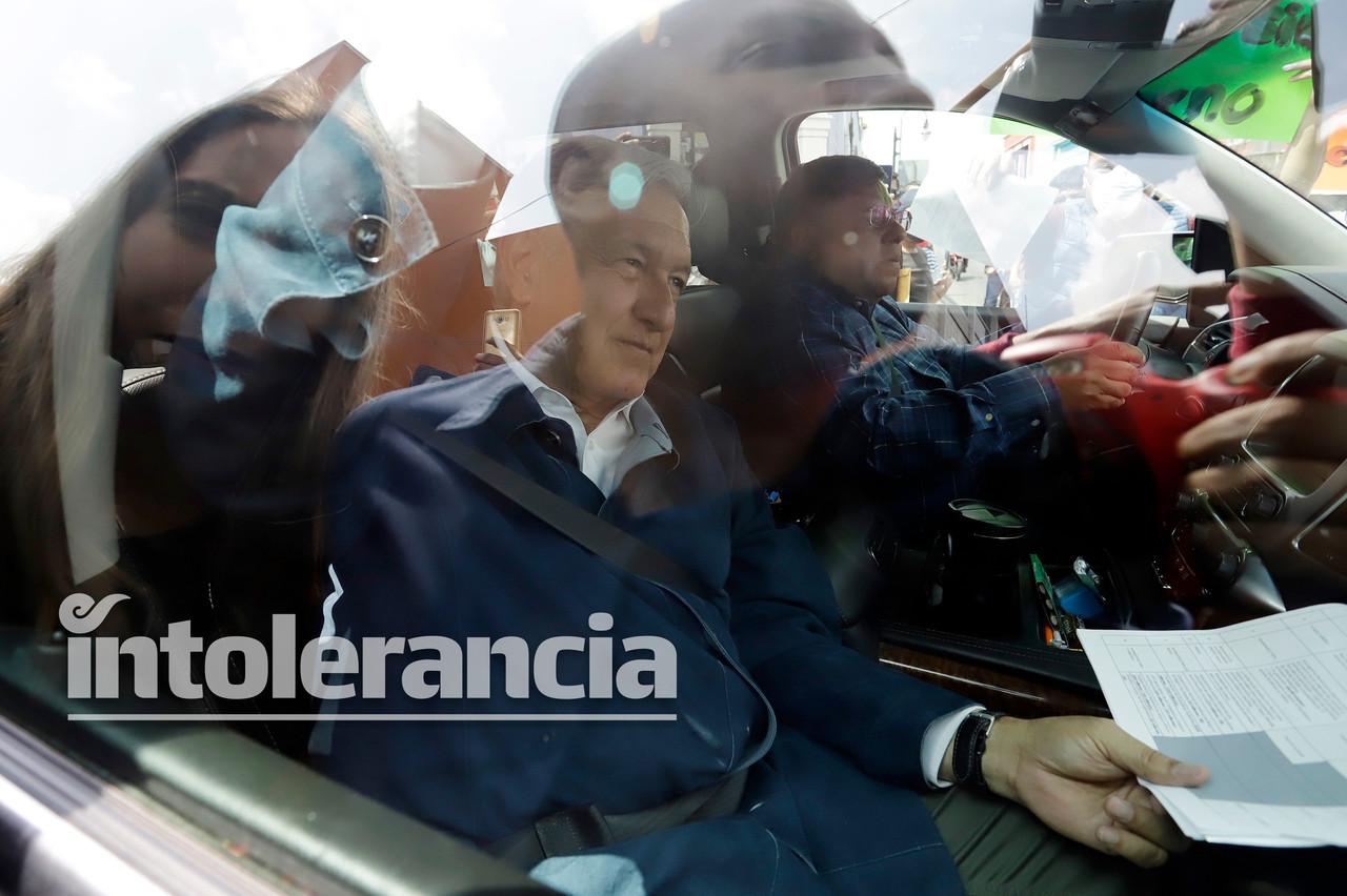 Contagios y protestas, saldo de la visita de AMLO a Puebla