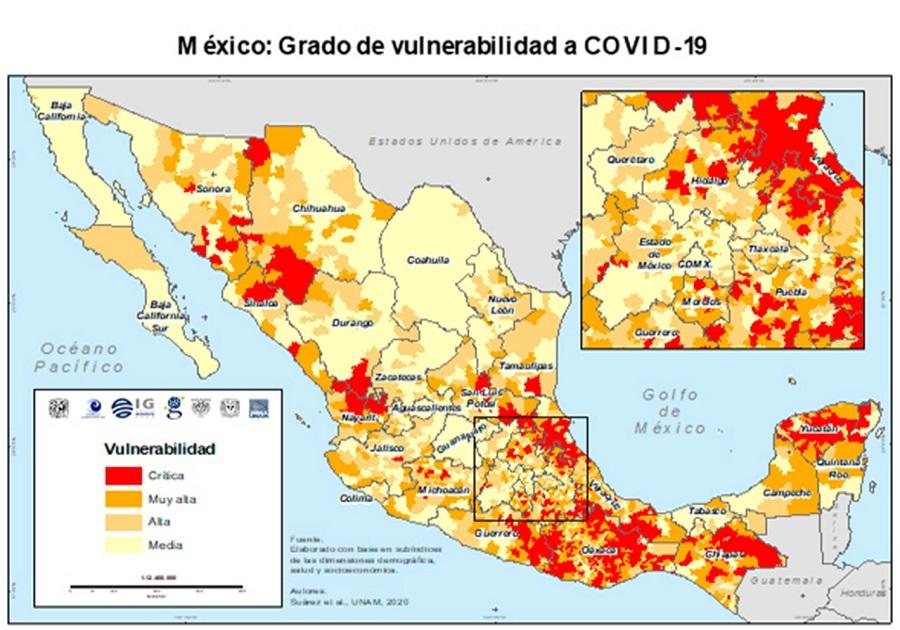 UNAM: Huasteca Poblana tiene fragilidad crítica ante Coronavirus