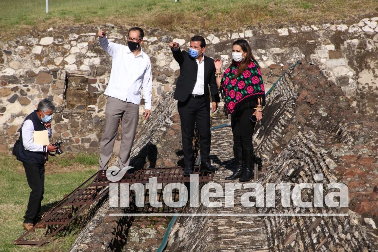 'Una Cholula unida', mensaje ante reapertura de la zona arqueológica