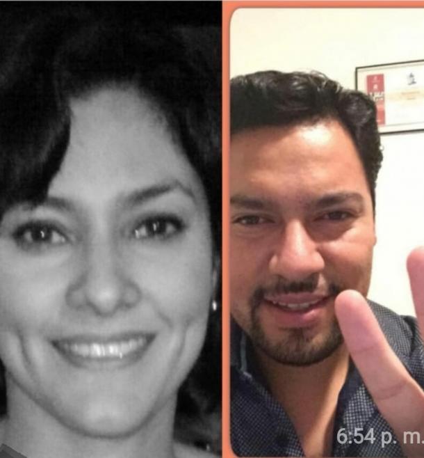 Andrés Villegas y Jessica Camarero.